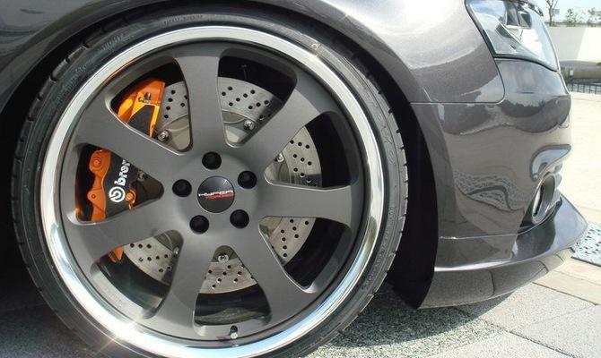 Замена колесных дисков – яркий и сравнительно недорогой тюнинг