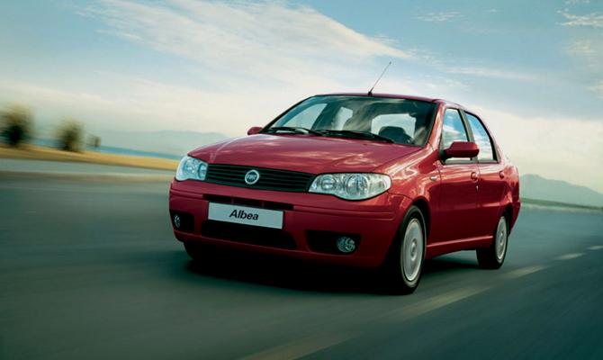 Фиат Альбеа – знакомство с авто