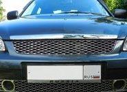 Решетка радиатора на Лада Приора – выбор новой и рестайлинг штатной детали на авто