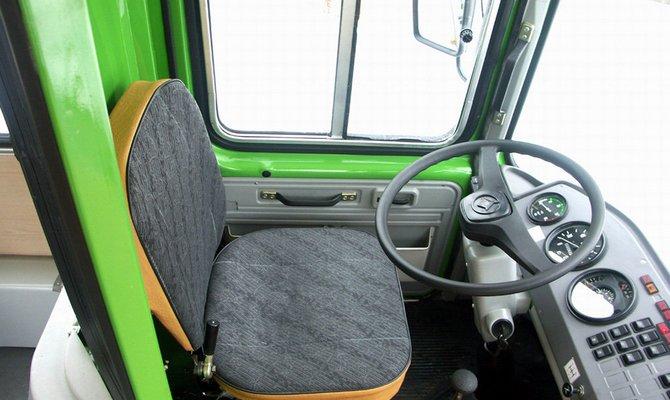 Модернизация сидений отечественного автобуса – и спина больше не болит