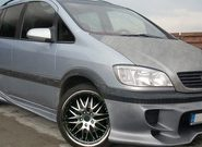Тюнинг Opel Zafira B – улучшаем компактвэн без усилий