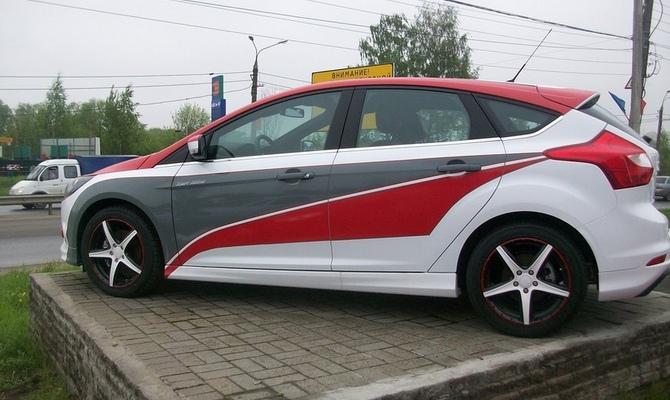 Покраска и нанесение карбона на кузов – строгое авто в темных цветах