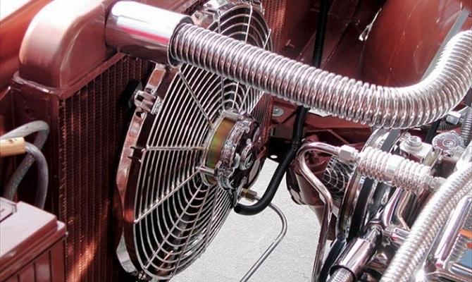 Жидкость – эффективный охладитель мотора