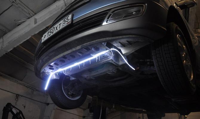 Подключение LED-подсветки и использование универсальных модулей