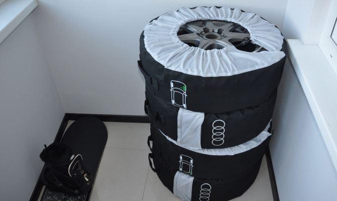 Применение специальных чехлов позволит продлить срок службы и лучше сберечь ваши колеса