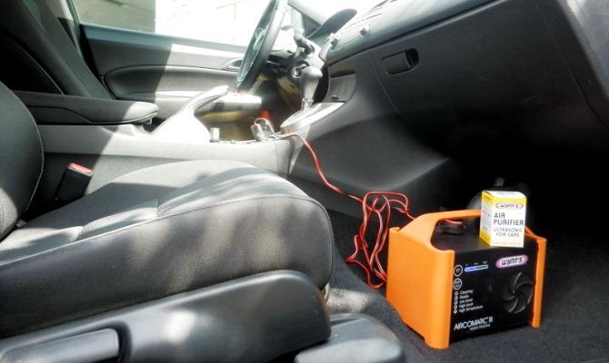 Антибактериальная обработка кондиционного оборудования и салона автомобиля