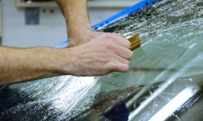 Все работы проводим только по полностью очищенной поверхности