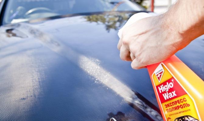 Воск в виде спрея (или попросту жидкий воск) является наиболее востребованным видом автомобильных полиролей