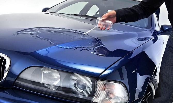 """Керамическое покрытие часто сравнивают по технологии производства с """"жидким стеклом"""""""