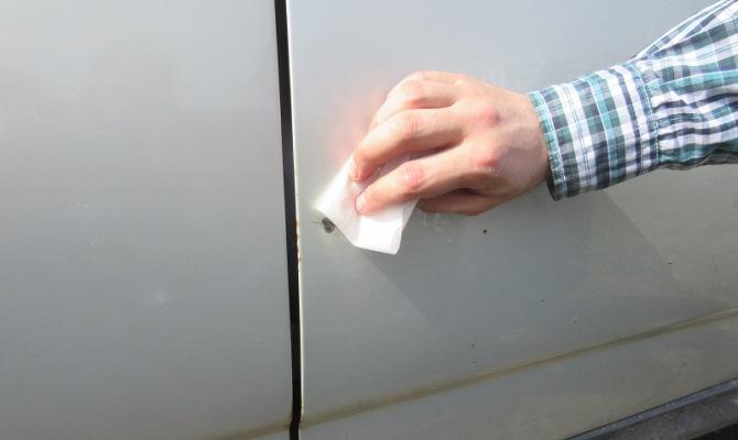 Как подкрасить сколы и царапины на кузове машины своими руками, TuningKod
