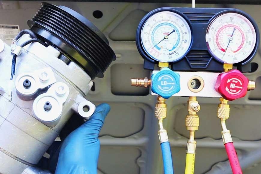 Диагностика кондиционера автомобиля – ищем утечки и другие неисправности