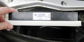 Фильтр салона Гранта – замена, особенности процедуры на автомобилях с кондиционером
