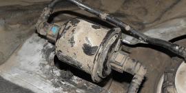 Топливный фильтр Hyundai Accent – месторасположение и инструкция по замене