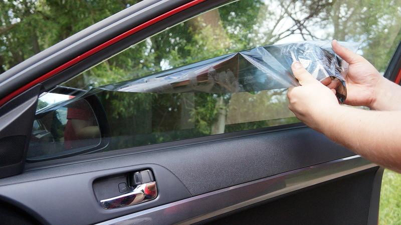 как удалить клей со стекла от тонировки