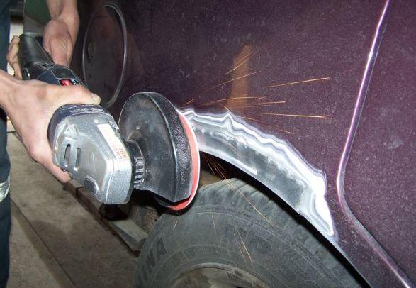 Кузовной ремонт автомобиля своими руками - удалени 49