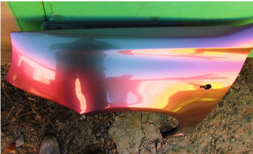 Покраска авто в хамелеон своими руками: технология
