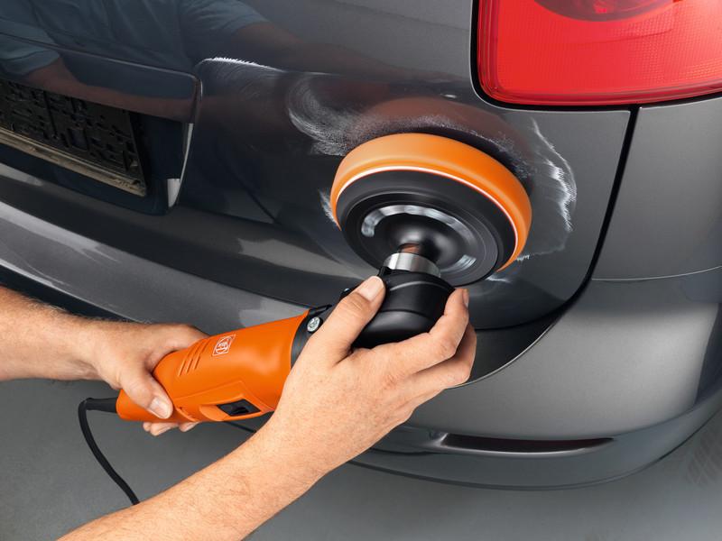 Машинка для полировки кузова автомобиля