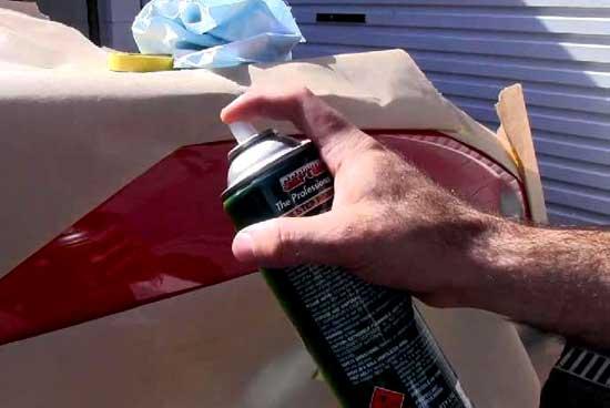 Необходимое количество краски и лака для покраски авто
