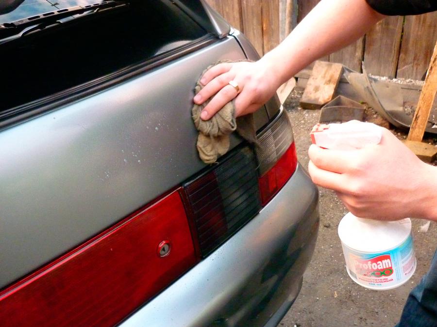 Покраска рыжиков на авто своими руками 80