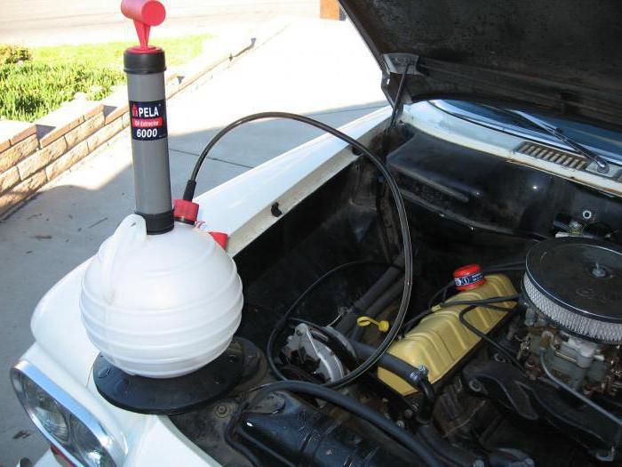 Ручной насос для откачки масла из двигателя своими руками фото 55