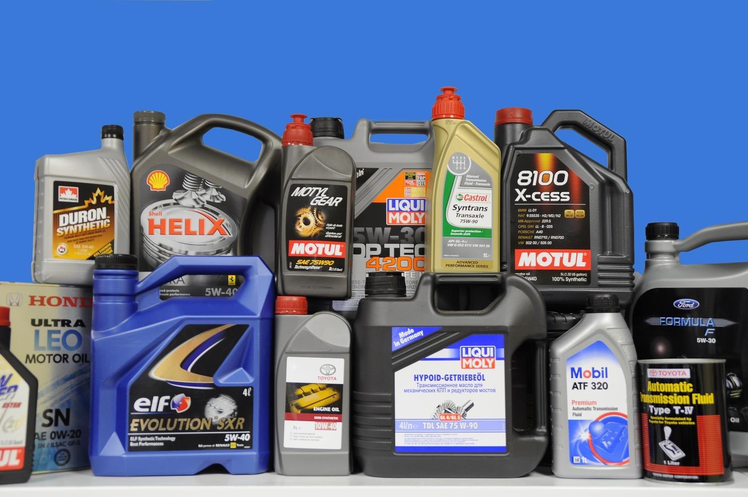 Выбор моторного масла для разных марок автомобилей
