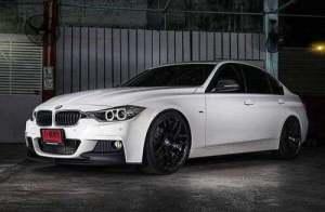 На фото - автомобиль BMW F30, drtop.ru