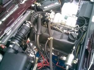 Фото двигателя ВАЗ 2107 с инжектором, nn.ru