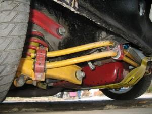 На фото - тюнинг подвески ВАЗ 2114, drive2.ru