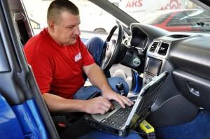 Фото прошивки ЭБУ Subaru, drive2.ru