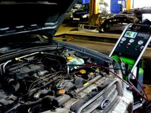 На фото - двигатель Subaru, subsuz.ru