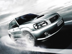 На фото - автомобиль Subaru после чип-тюнинга, motor-soft.ru