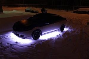 Фото подсветки днища автомобиля, avtomotospec.ru