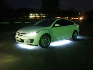 Фото качественной подсветки днища автомобиля, svetodiod96.ru