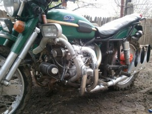 Фото мотоцикла с системой турбонаддува, moto-planeta.ru