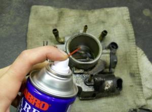 Фото очистки дроссельной заслонки ВАЗ 2112, atlib.ru