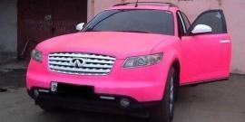 Покраска машины жидкой резиной – новый метод преображения автомобиля