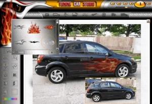 Обзор программ для виртуального тюнинга авто фото