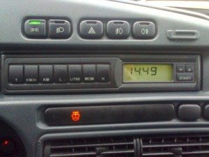 Фото бортового компьютера автомобиля, drive2.ru