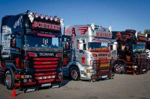 Фото выставки тюнингованных моделей европейских грузовиков, loveopium.ru