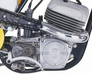 На фото - двигатель мотоцикла Ява, bikepost.ru