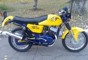 Фото тюнинга различных элементов мотоцикла Ява, mayorsk.com