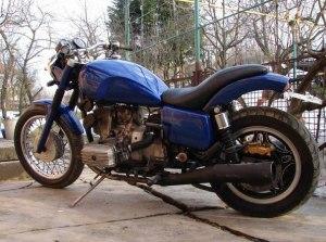 На фото - внешний тюнинг мотоцикла Урал, vk.com