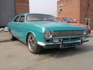 На фото - внешний тюнинг ГАЗ 2410, yaponomat.com