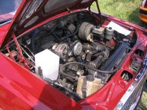 На фото - тюнинг двигателя ГАЗ 2410, rusotuning.ru
