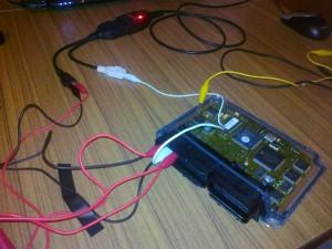 На фото - чип-тюнинг электронного блока управления, drive2.ru