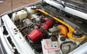 На фото - тюнинг инжекторного двигателя ВАЗ 2109, avto-tuning-mania.blogspot.com