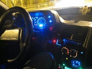 Фото тюнинга подсветки кнопок управления ВАЗ 2110, drive2.ru