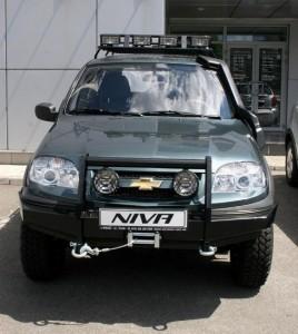 Фото навесного оборудования на Шевроле Нива, autoexpert.in.ua
