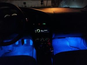 Фото подсветки для ног Киа Спектра, drive2.ru