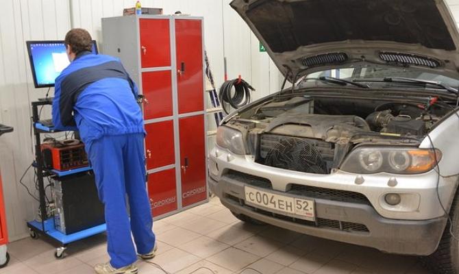 Чип-тюнинг BMW в мастерской